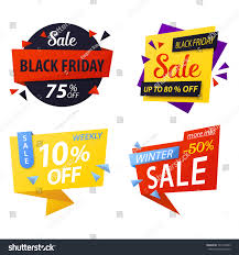 black friday store coupons black friday price discount tags sale stock vector 521264953
