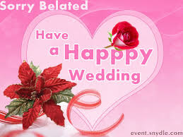 belated wedding card belated happy marriage anniversary sriphala