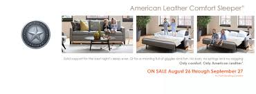 American Leather Comfort Sleeper Sale Sales U0026 Promotions Archives San Luis Traditions