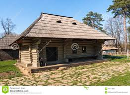 Rustic House Traditional Romanian Wooden Rustic House Stock Photo Image 42151850
