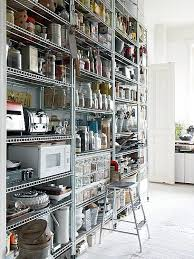 Pinterest - Stainless steel kitchen storage cabinets