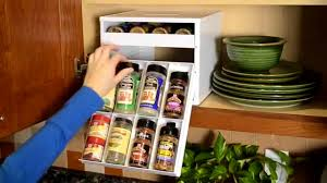 carousel spice racks for kitchen cabinets kitchen appealing behind closed doors spices cabinet door custom