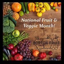 fruit of the month it s national fresh fruit vegetable month borton fruit