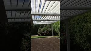 Equinox Louvered Roof Cost by Happy House Improvement Louvered Roof System Job Youtube