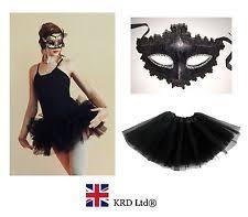 Gothic Ballerina Halloween Costume Swan Costume Ebay