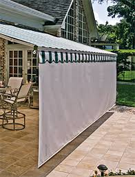 Outdoor Privacy Blinds For Decks Retractable Awnings Screens Patio Awning Sunesta I Like How