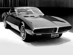 pontiac corvette concept pontiac banshee xp 798 concept car 1966 concept cars