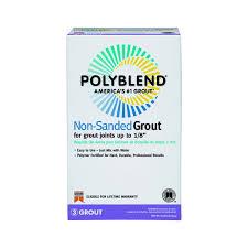custom building prod pbg5210 polyblend nonsanded tile grout