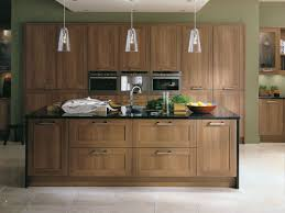 walnut kitchen cabinets living room decoration