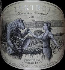 Vineyard Bench Tasting Notes Foxtrot Vineyards Henricsson Vineyard Pinot Noir