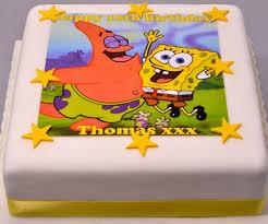 spongebob squarepants cake spongebob squarepants and cake