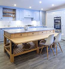 freestanding kitchen island with seating breathingdeeply