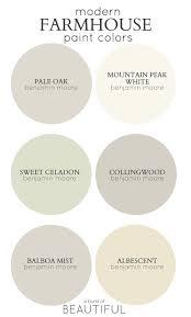 farmhouse paint color palettes favorite paint colors blog