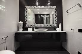 black and white tile bathroom decorating ideas oval white