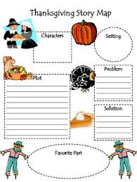 thanksgiving story map for any story by kristen duckworth tpt