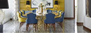 Modern Leather Dining Room Chairs Modern Dining Room Chairs Blue Interior Design