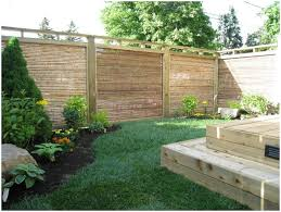 backyards trendy backyard fencing ideas backyard images