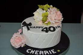 40th birthday cake ideas for female a birthday cake
