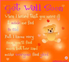 greeting card for sick person get well soon messages and get well soon quotes messages