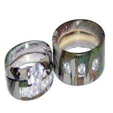 camo wedding rings with real diamonds camo wedding ring sets with real diamonds marifarthing