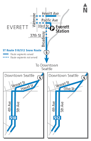 Seattle Bus Route Map by Schedules