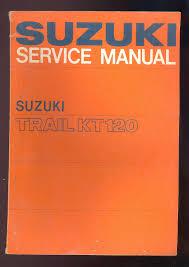 1967 suzuki trail kt120 motorcycle service manual u2022 cad 55 04