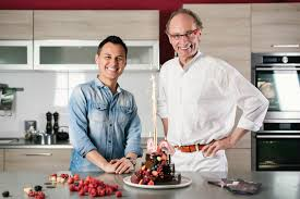 hervé cuisine jean galler et hervé cuisine proposent une recette au chocolat