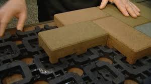 Recycled Rubber Patio Pavers Composite Pavers Made From Recycled Materials Today S Homeowner