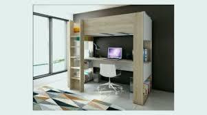 lit mezzanine enfant avec bureau lit mezzanine avec bureau et rangement idées de maison inspiration
