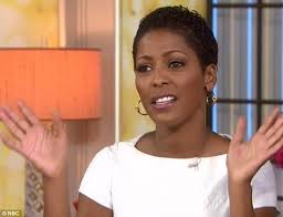 today show haircut tamron hall debuts her natural wavy crop on today show daily