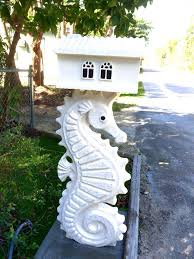 Nautical Themed Mailboxes - 104 best seahorses home decor images on pinterest seahorses