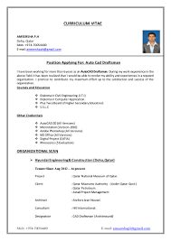 Resume Sample Cpa by Autocad Resume Sample Draftsman Virtren Com