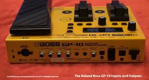 roland boss gp 10 synthesiser effects unit inside and out trusted