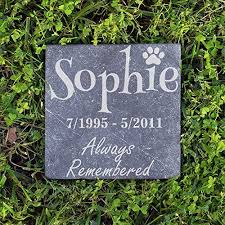 dog grave markers personalized dog memorial customized dog grave marker custom