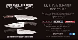 ct based ergo chef debuts re engineered approach to kitchen knife