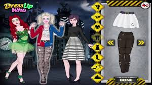 halloween dress up games harley quinn and friends and victoria u0027s