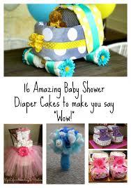 Diaper Cake Bathtub 16 Amazing Baby Shower Diaper Cakes To Make You Say