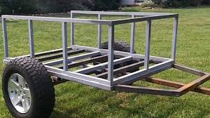 Tent Trailer Floor Plans by Trailer Build For Cvt Roof Top Tent Part Duex Youtube Roof Top