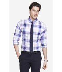 plaid dress shirt oasis amor fashion