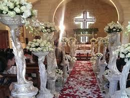 wedding flowers for church church weddings floral designs bekaa lebanon by sawaya flowers