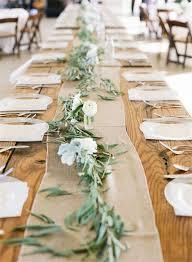 wedding reception table runners 22 rustic burlap wedding table runner ideas you will love wedding