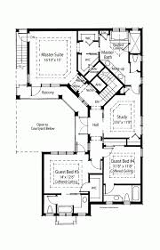 house plans with courtyards in the middle