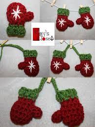 mini mitten set ornament free pattern on craftsy teresa