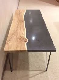 concrete and wood coffee table the harlan mod wood concrete concrete pig my favorite wood