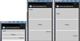 android center text linearlayout laying out controls in android containers informit