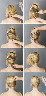 Kurze Haare Hochstecken Hochsteckfrisurenen by Hochsteckfrisuren Selber Machen 58 Anleitungen Für Effektvolle