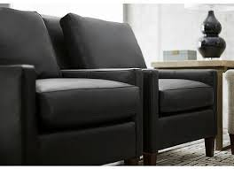 Leather Accent Chair Modern Profiles Leather Accent Chair Havertys