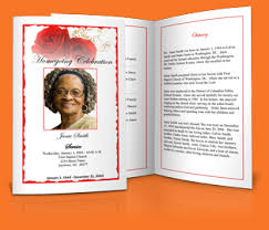 Funeral Programs Samples Obituary Examples Sow Template