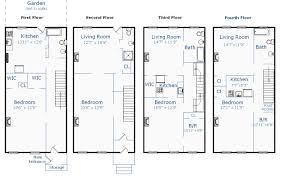Brooklyn Brownstone Floor Plans brownstone home designs house design plans