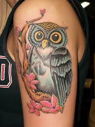 flower tree branch owl on sleeve golfian com